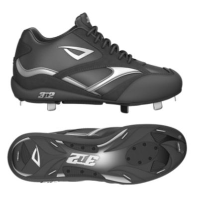 3N2 Showtime Mid Metal Cleat