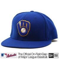 New Era Milwaukee Brewers Cap (+ free Cap Buddy)