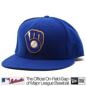 New Era Milwaukee Brewers Cap (+ gratis Cap Buddy)