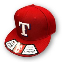 Richardson Tex Town Tigers FlexFit Cap Red