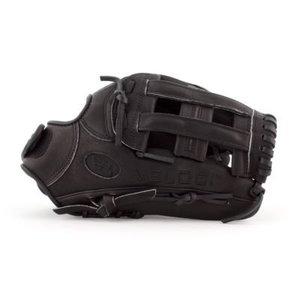 Boombah Veloci GR Fastpitch handschoen B4 Zwart