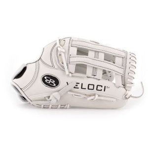Boombah Veloci Fastpitch glove B4 White