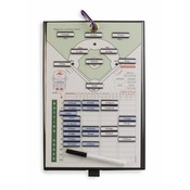 Coach Lineup Magneet Bord