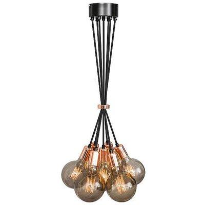 No.3 hanglamp bundel koper 7 lichts