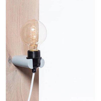 No.16 wandlamp grijs