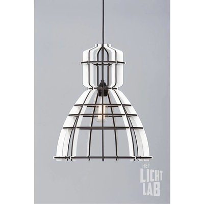 Hanglamp no.19 industrielamp white edition