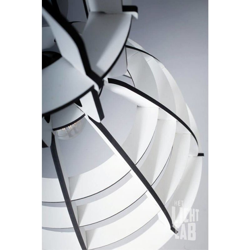 Het Lichtlab Hanglamp no.19 industrielamp white edition