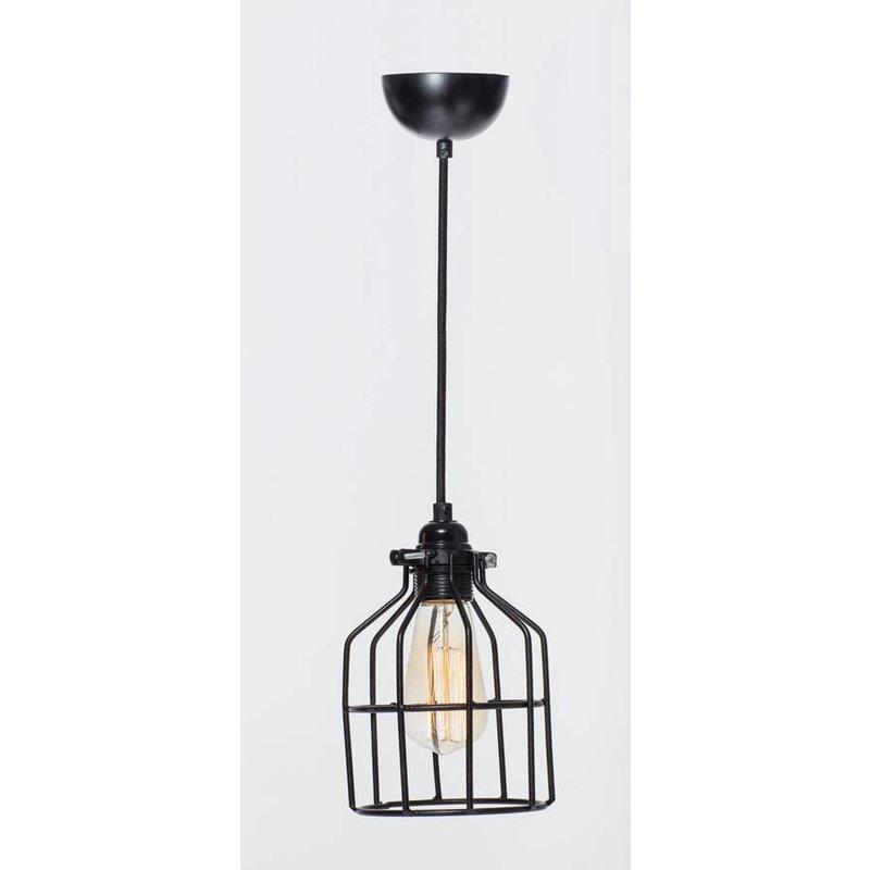Het Lichtlab No.15 hanglamp kooi zwart