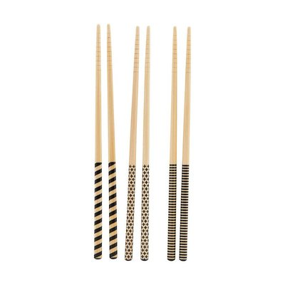 3D bamboe eetstokjes