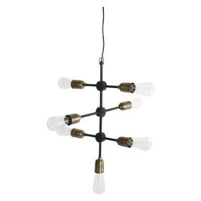 Hanglamp molecular zwart 48 cm