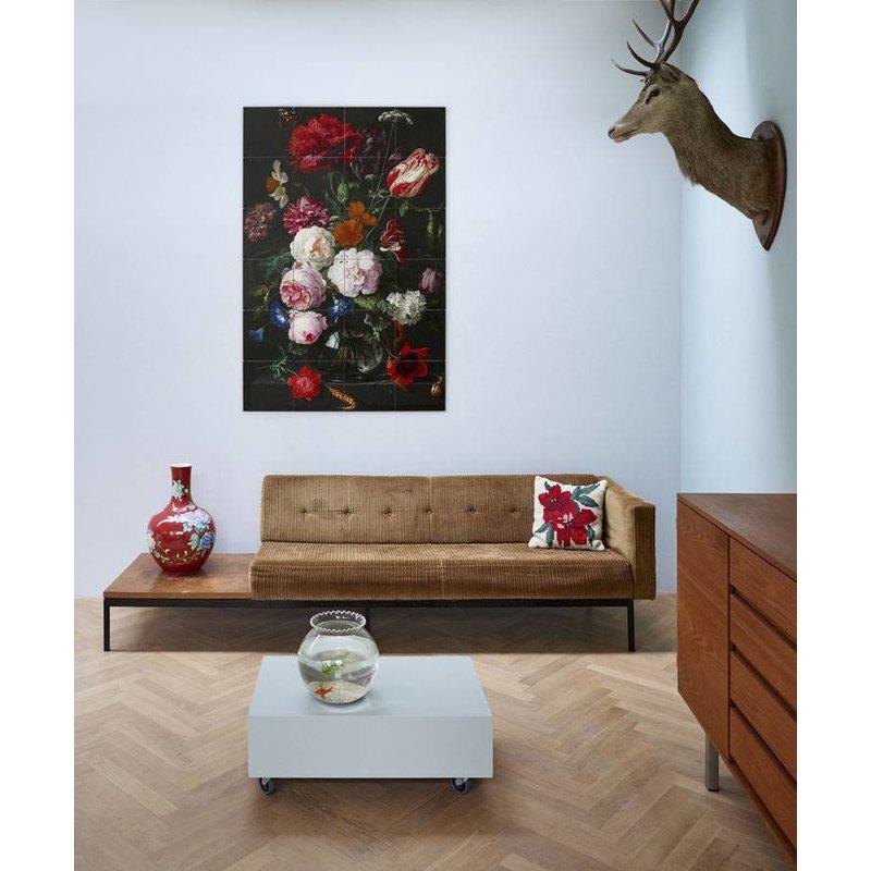 IXXI Wanddecoratie Still Life with Flowers - Klein 80 x 120 cm