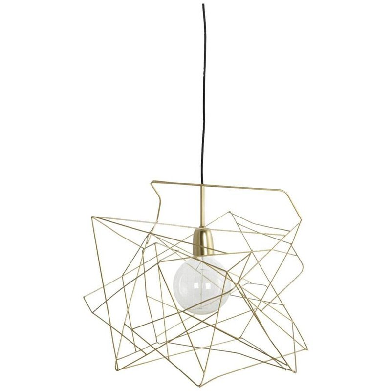 House Doctor Hanglamp asymmetric shiny gold