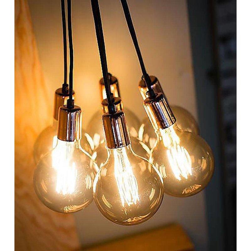 Het Lichtlab No.3 Hanglamp bundel 7 lichts goud