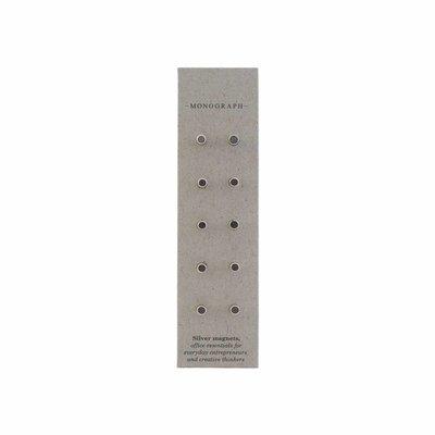 House Doctor Zilveren magneten set van 10