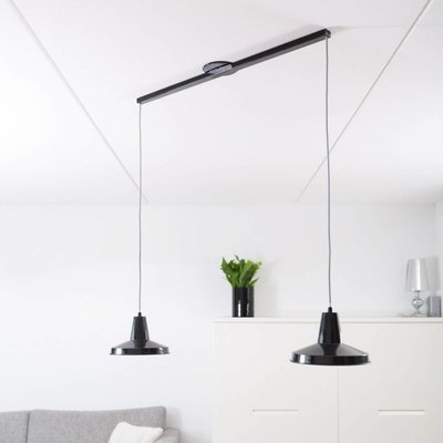 Lightswing Zwart Twin Ophangsysteem voor hanglampen