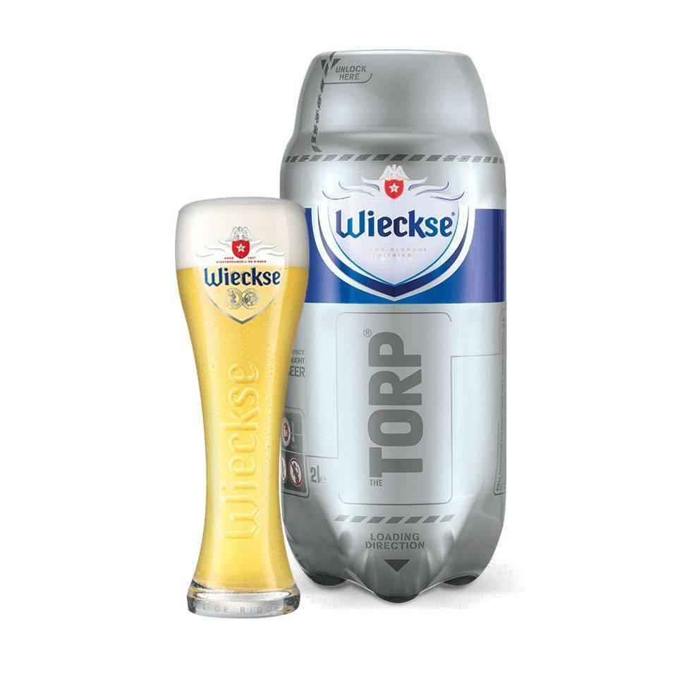 Birra di frumento rinfrescante prodotta nei Paesi Bassi