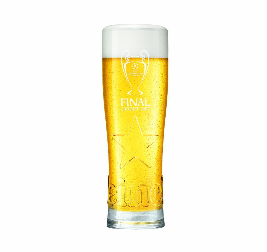 UEFA Champions League glass 1 (pc) Giftpack