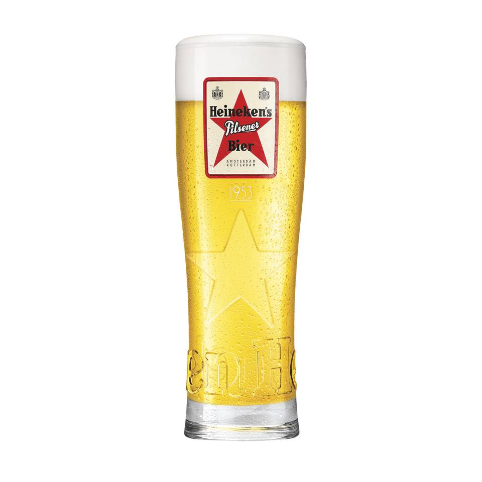Heineken Legacy glasses (4 PCS)