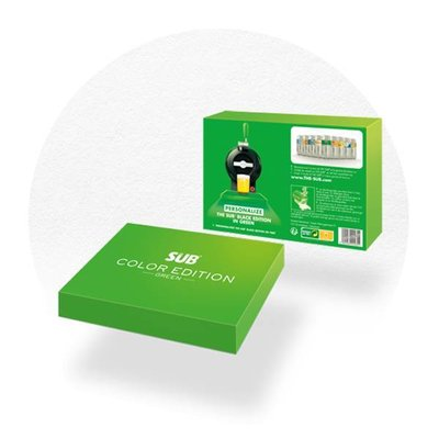 COFFRET COLOR ÉDITION VERT THE SUB