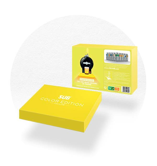 COFFRET COLOR ÉDITION JAUNE THE SUB