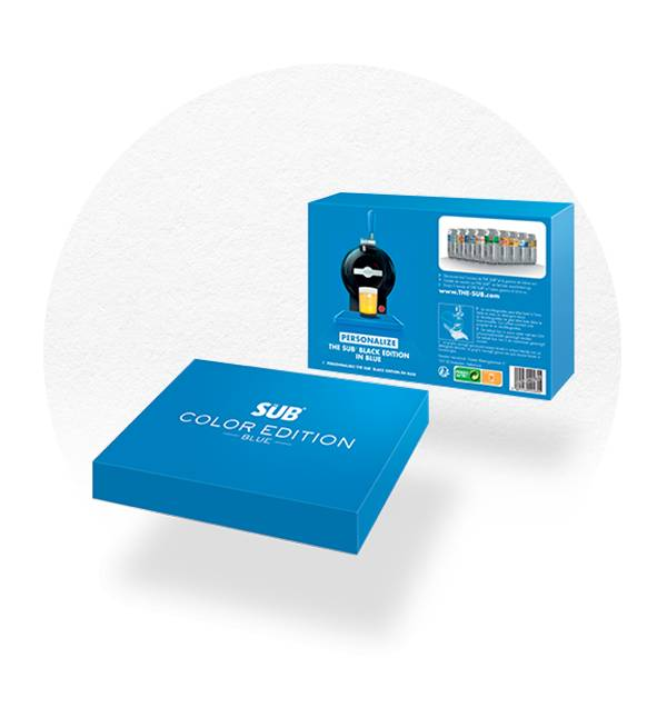 COFFRET COLOR ÉDITION BLEU THE SUB