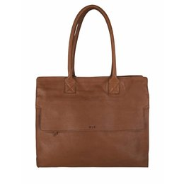 MYK BAGS MYK BAG CAREER COGNAC