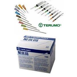Terumo Naalden Gx1 serie, diverse afmetingen leverbaar, doos 100 stuks