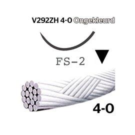 V292ZH Vicryl® 4-0 Ongekleurd, met FS-2 (19mm) naald
