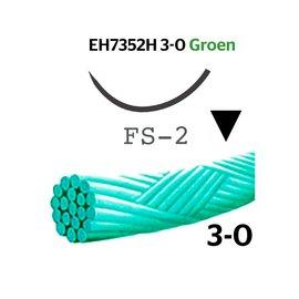EH7352H Mersilene® 3-0 Groen, met FS-2 (19mm) naald