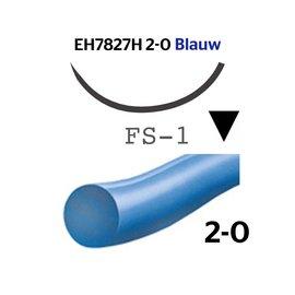 EH7827H Ethilon® 2-0 Blauw, met FS-1 (24mm) naald