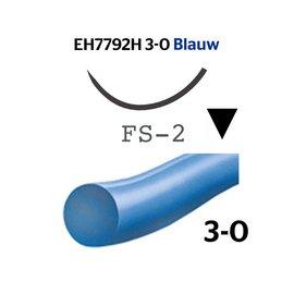 EH7792H Ethilon® 3-0 Blauw,  met FS-2 (19mm) naald