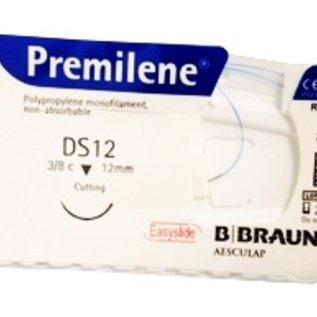B. Braun Premilene® 5-0 draad (DS 12), blauw, per doos van 36 stuks