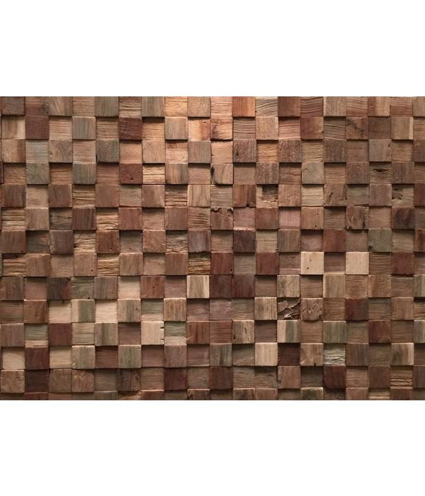 Rebel of Styles UltraWood Teak Square