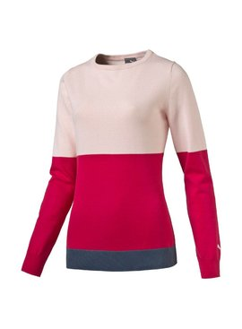 Puma W Colorblock Sweater