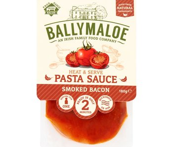 Ballymaloe, de Ierse Relish in Nederland Smoked Bacon Pastasaus 180gr