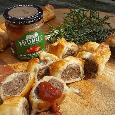 Saucijzen broodje á la Ballymaloe