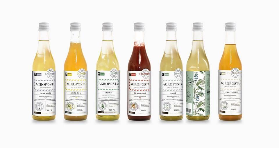 Nieuw! Agroposta Limonadesiroop in een fles