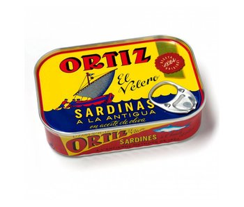 Ortiz Sardientjes a la Antigua in olijfolie
