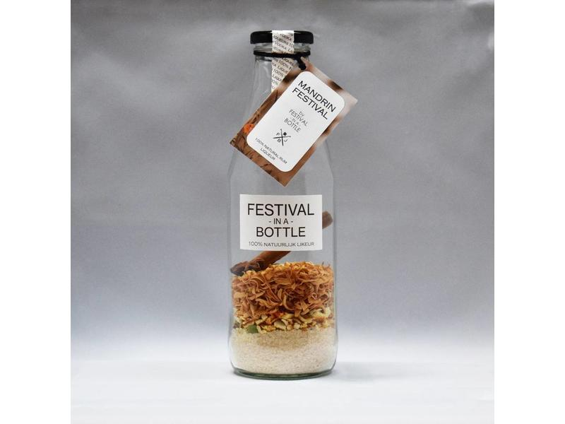 Mandarin Rum Likeur Festival in a Bottle