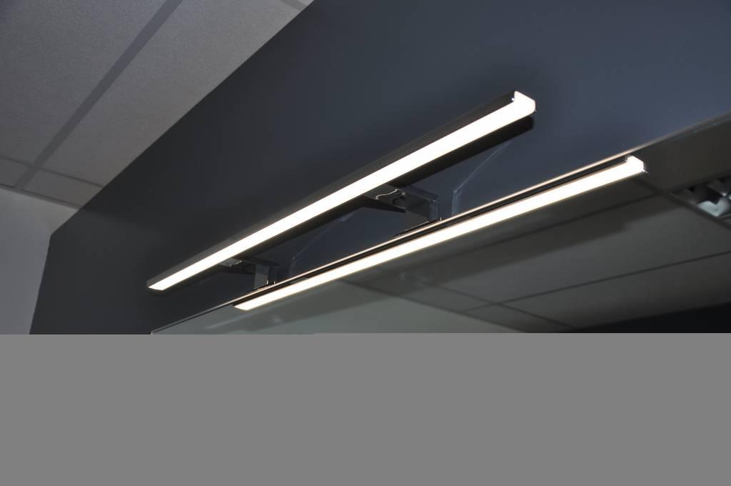 Tigris badkamer-ledverlichting<br/> breedte 800mm met dubbele voet ...