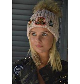 Patched cap
