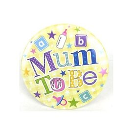 Grote Mum To Be Badge