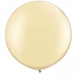 Metallic Ivoor 90cm Top Helium Ballon