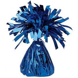 Blauwe Metallic Finish Folie Helium Ballongewicht