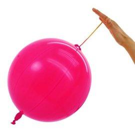 10x Roze Boksballonnen Punchballonnen