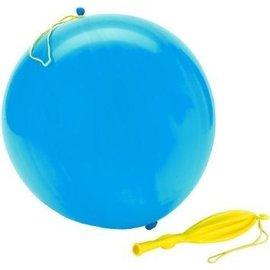 10x Lichtblauwe Boksballonnen Punchballonnen