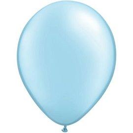 10x Kleine 5inch Lichtblauwe Ballonnen