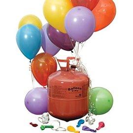 Wegwerp Heliumfles voor 30 Ballonnen
