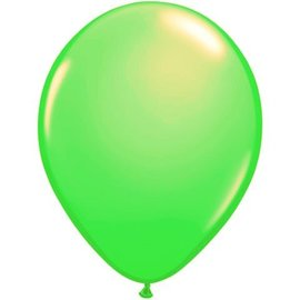 10x Neon Groene Latex Ballonnen
