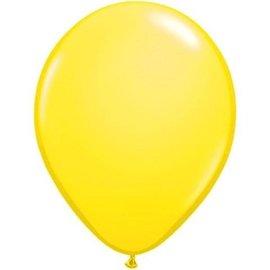 10x Neon Gele Latex Ballonnen